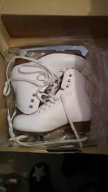 Girls ice skating boots