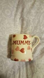 Emma Bridgewater 1/2 pint Mummy mug.
