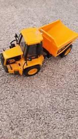 JCB toy truck