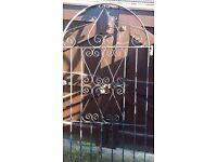 Wrought Iron gate suitable side entrance etc