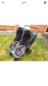 City mini jogger GT double pram/pushchair