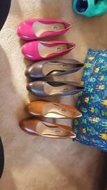 Clarks size 6.5 shoes