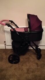 Tutti Bambini Travel System car seat Pushchair buggy NEW