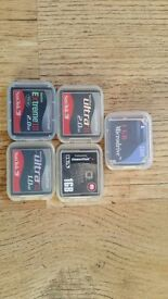 Compact Flash Cards. 7GB.