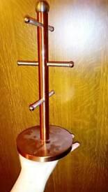Copper effect Mug tree
