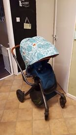 Mamas and papas donna wilson pushchair with carrycot