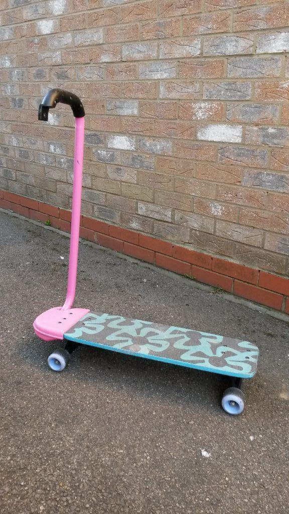 Barbie Skateboard with holding handle for young child  : 86 from www.gumtree.com size 576 x 1024 jpeg 136kB