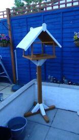 handmade bird house feeder