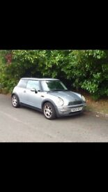 Mini one petrol 1.6 2004 £1000 ONO