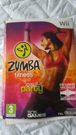Zumba party for Wii