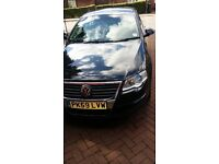 Black Volkswagen passat ,Diesel excellent condition,With PCO LICENCE