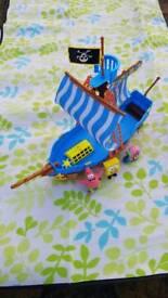 Spongebob ship
