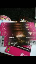 4 tickets Glasgow Xmas light switch on