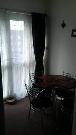 2 bedroom part furnished flat available for rent
