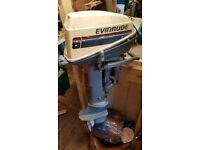 Evinrude 6 Outboard Engine - 2 Stroke