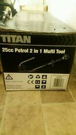 TITAN grass trimer 2 in 1 only used couple of time.
