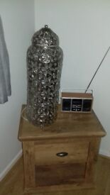 Jewelled table lamp