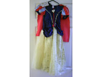 Girl's Snow White Fancy Dress Disney Princess Age 7-8