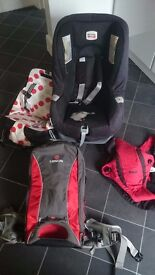 Car seat and baby toddler carriers