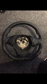 BMW 1M Steering Wheel