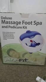 Foot spa kit