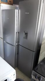 **HOTPOINT**GRAPHITE**FRIDGE FREEZER**WATER DISPENSER*MULTI-AIR-FLOW**A+RATED**FROST FREE**187x60x65