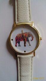 LADIES 'ELEPHANT' QUARTZ WATCH