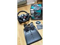 Logitech Driving Force GT Steering Wheel EVERYTHING INCLUDED