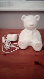 Teddy Bear Lamp - Brand New