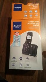 cordless binatone call bloker single phone