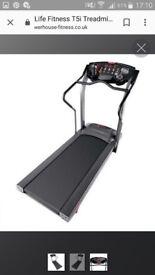 Life fittness T5i treadmill