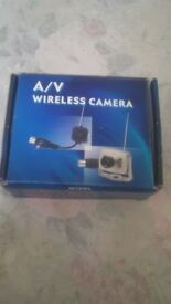 WIRELESS CAMERA SYSTEM FOR GARAGE/SHED SURVEILLANCE/BABY MONITOR FOR SALE