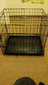 Small dog cage sold pending collection