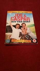 Joe and Casper hit the road