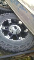 "FOR SALE - 17"" Rockstar Rims XD Series for GMC"