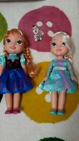 Frozen anna and elsa toddler dolls