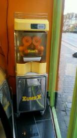 Zumex orange juice machine