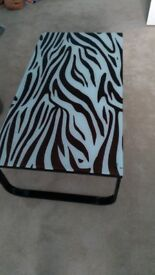 Zebra Coffee table