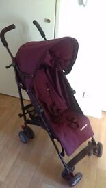 Purple mothercare buggy