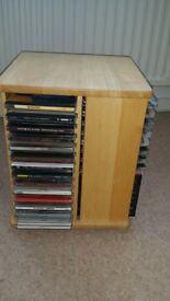 CD storage holder