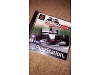 playstation ps1 Formula A1 98 game