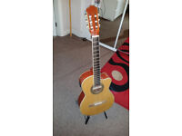 Guitar and Stand for Sale...£20 Quick Sale! Or Sell Seperate