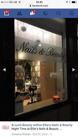 Room to rent within busy nail salon