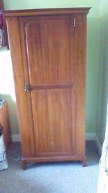Edwardian single wardrobe