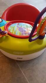 Mamas and papas seat with play tray