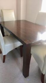Dining table...