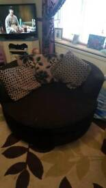 Dfs spinning cuddle chair