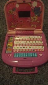 Bruin Girls learning toy laptop
