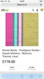 Prestigious Roman blind