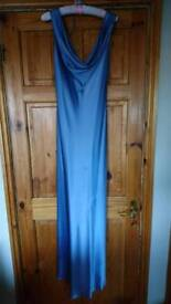 Light blue floor length monsoon dress